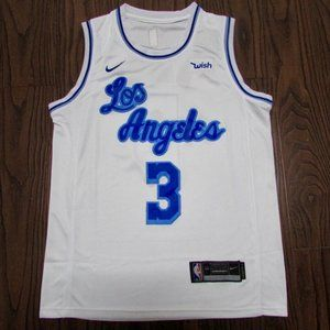 NEW Los Angeles Lakers Anthony Davis Jersey 3 Nike